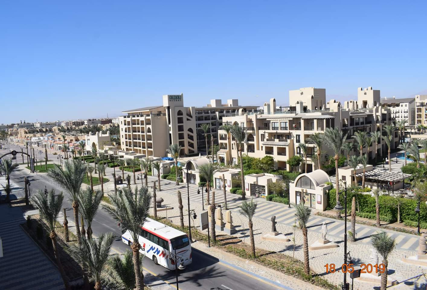 تطوير الممشى السياحى بمدينة الغردقة