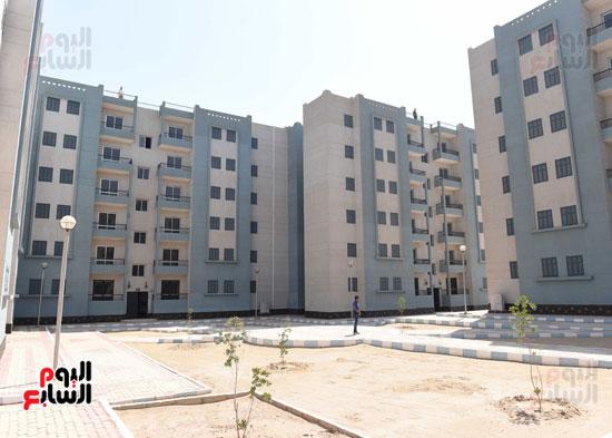 الإسكان الاجتماعى بمدينة سوهاج الجديدة