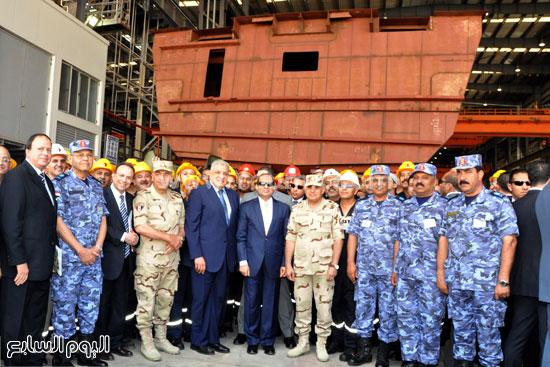 تطوير ترسانة الاسكندرية البحرية