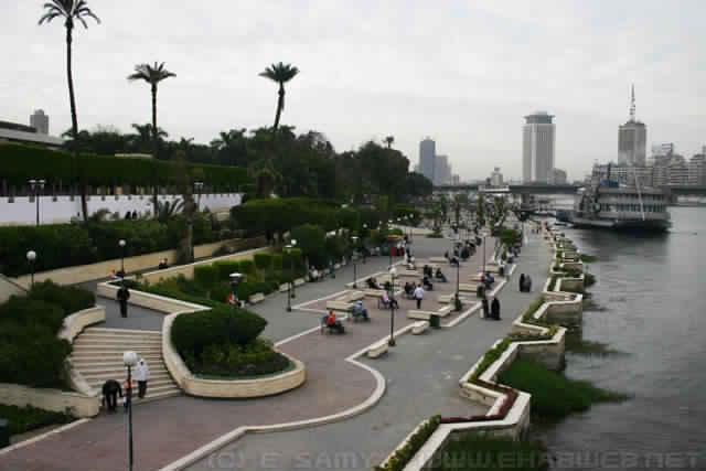 تطوير كورنيش النيل بالقاهرة