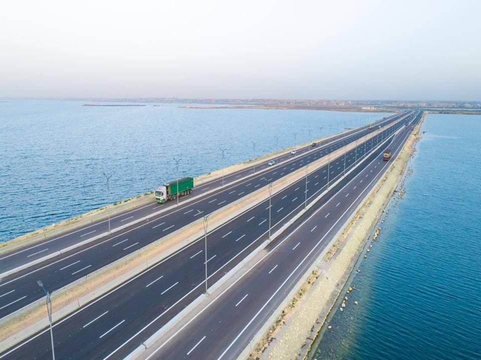 تطوير وتوسيع المحور التنموي لبرج العرب