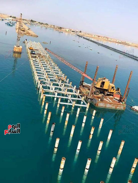 تطوير ميناء الصيد بالشلاتين