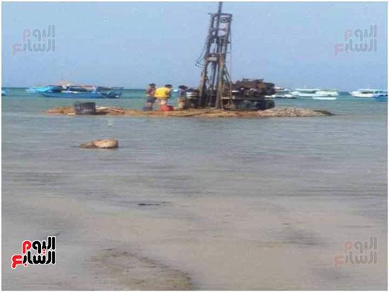 تطوير ميناء صيد أبو رماد
