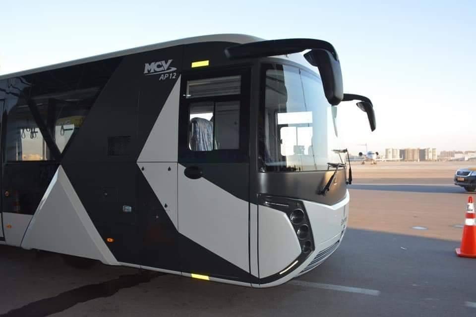 حافلات مصر للطيران الجديدة
