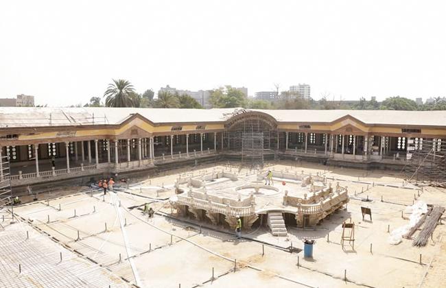 ترميم قصر محمد علي باشا بشبرا