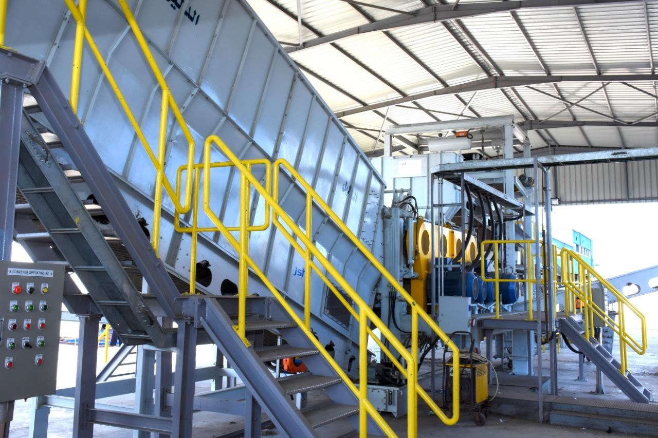 مشروع خط إنتاج الوقود البديل (R.D.f) بمصنع الزياتين