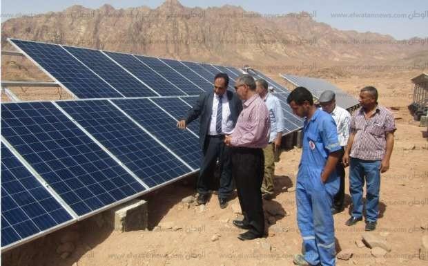 محطة أبو غراقد للطاقة الشمسية 