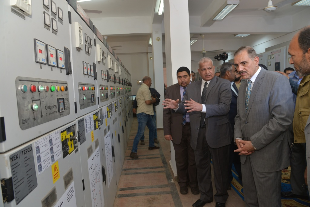 لوحة توزيع كهرباء مركز القوصية