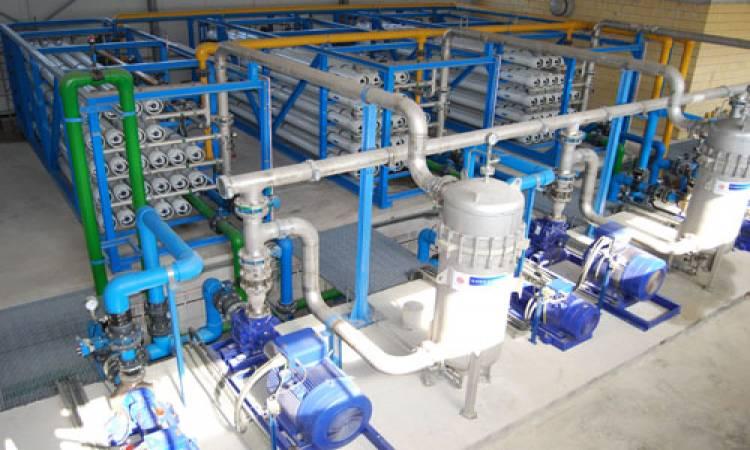 محطة تحلية مياه البحر بمنطقة كليوبترا