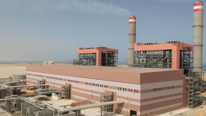 محطة توليد كهرباء العين السخنة البخارية