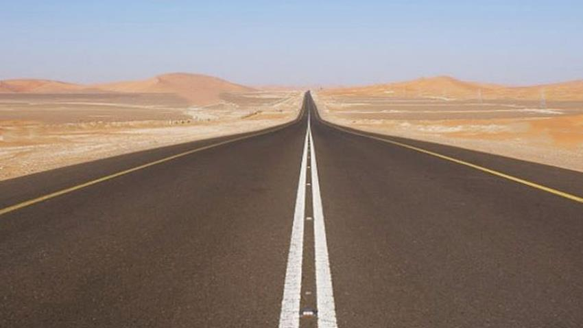 طريق سيوة - الواحات البحرية