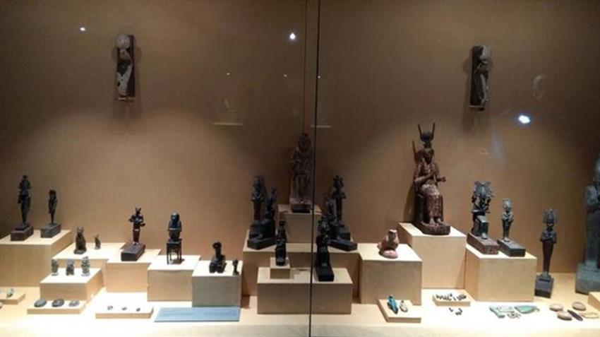 ترميم متحف ملوي بالمنيا