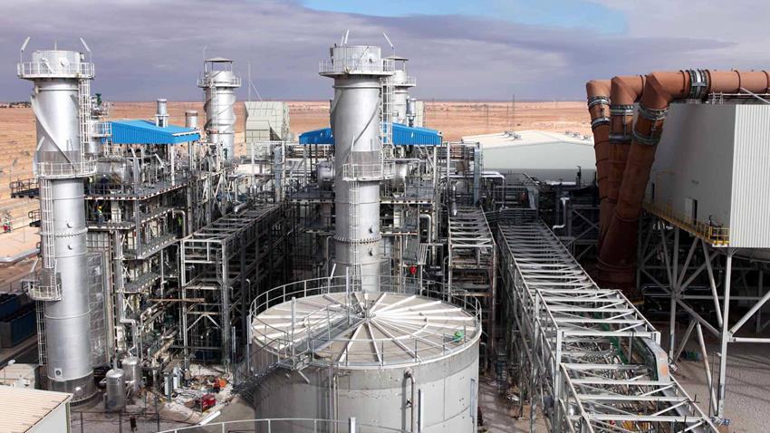 محطة كهرباء غرب أسيوط