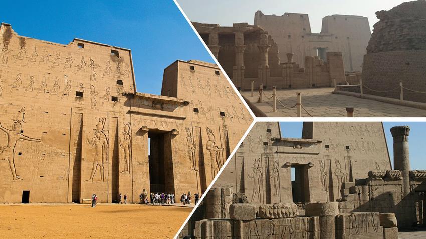 تطوير وخفض منسوب المياه الجوفية بمعبد إدفو بأسوان