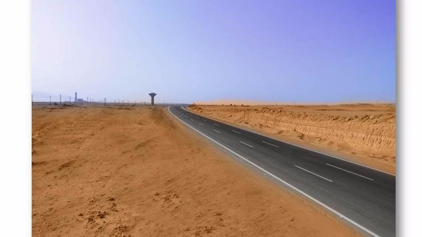 ازدواج طريق الشط - عيون موسى