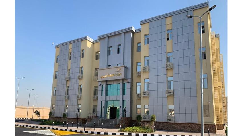 إنشاء المقر الجديد للإدارة العامة للمرور 6 أكتوبر
